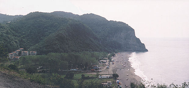 Göbü Beach (on the 20 kilometers east of Zonguldak)